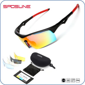 Photochromic Sports Glasses Cricket Sunglasses for Outdoor Sport pictures & photos
