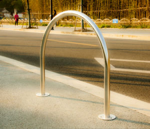 U Type Stainless Steel Bike Stand Bike Racks pictures & photos