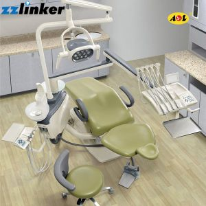 Anle Tope Mounted Dental Chair Unit Al-398hb with 9 Memories pictures & photos