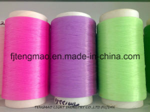 450d Purple FDY PP Yarn for Webbings pictures & photos