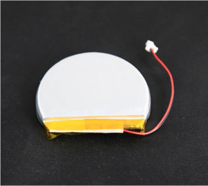 Custom Made Li-ion Lithium 755040-1500mAh Crescent/Moon Shaped Lipo Battery for Smart Wearable Devices pictures & photos