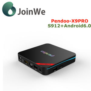 Amlogic S912 Octa Core Pendoo X9 PRO Android TV Box Android 6.0 pictures & photos