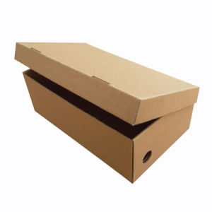 Customized Cardboard Paper Packaging Shoe Box pictures & photos