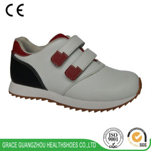 Children Orthopedic Shoes Arch Support Health Running Shoes pictures & photos