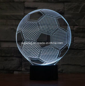 3D Illusion LED Soccer Lamp pictures & photos