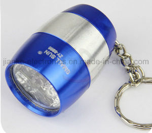 2016 Novelty Key Holder Flashlight LED Torch with Logo Printed (3033) pictures & photos