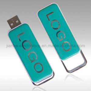 High Speed 3D Logo Crystal USB Flash Drive with LED Light (759) pictures & photos