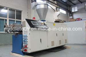 (CE) Plastic Conical Extruder- PVC Window Sill/ Ceiling Profile/ Wall Panel/Edge Banding/Pipe Extrusion Machine pictures & photos