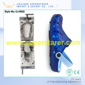 3D Two Injection Foam Clog Mould, EVA Clogs Aluminum Casting Mould pictures & photos