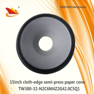 Hot Sale 15inch PA Sepeaker Parts -Paper Cone pictures & photos