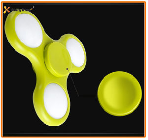 Stock Toy Tri LED Light Fridget Spinner Hand Spinner pictures & photos