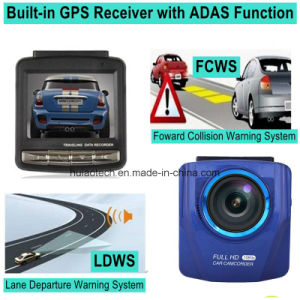 2016 New GPS Tracking Logger Car Dash Camera with GPS Receiver Antenna, Full HD1080p Car Digital Video Recorder, 5.0mega Car Black Box Camera DVR-2416 pictures & photos