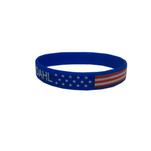 Printing Silicon Rubber Band PVC Bracelet pictures & photos