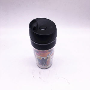 350ml Plastic Double Wall Tumbler (SH-PM40) pictures & photos