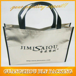 Red Laminated Plastic Shopping Bags for Sale (BLF-NW158) pictures & photos