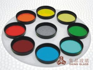 1.1mm Pyrex 7740 Glass for Stage Light Color Lens pictures & photos