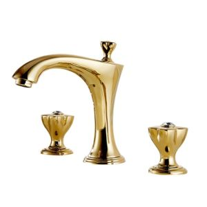 Golden Crystal Bathroom Faucet Basin Taps pictures & photos