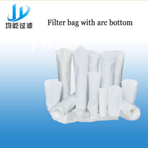 Stainless Steel Iron Ring Polyester Industrial Filter Bag for Cement Plant pictures & photos