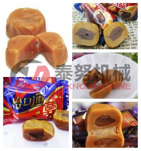 Central Filled Toffee Candy Line for Industrial Use pictures & photos