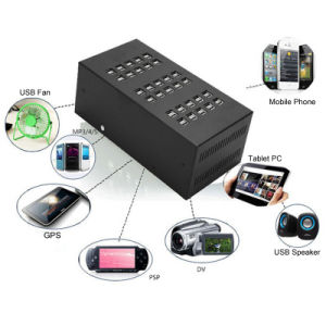 60 Ports 300W Desktop Rapid USB Wall Charger for Smart Phones Tablets PC pictures & photos