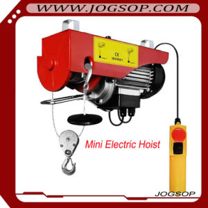 PA Mini Electric Wire Rope Hoist 500kg PA600/Building Portable Electric Winch pictures & photos