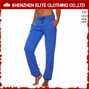 Hot Selling Cheap Blank Jogging Pants Blue (ELTJI-16) pictures & photos