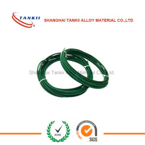 Green white thermocouple extension cable type K 2*0.2mm insulated by PVC pictures & photos