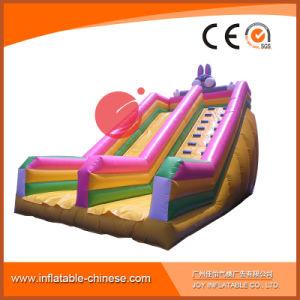 New Design Inflatable Bouncy Castle FRP Wave Slide (T4-036) pictures & photos