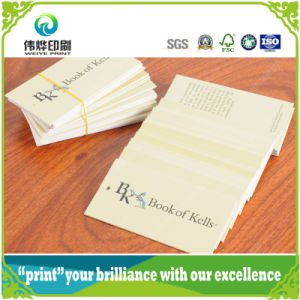 Offset Printing Paper Tag (for Book) pictures & photos