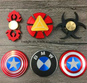 Metal Alloy Rolling Bearing Finger Gyro Fidget Hand Toys Spinner pictures & photos
