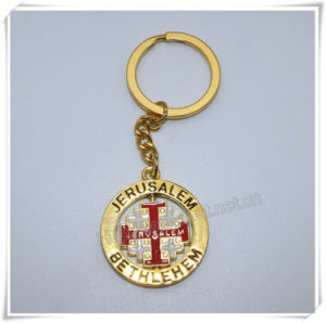 Professional Metal Cross Keychain/Cross Keyring/Cross Key Holder (IO-ck112) pictures & photos