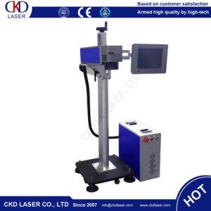 Flying Online Fiber Laser Marker Marking Machine pictures & photos