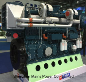 1600HP 1000rpm Yuchai Marine Diesel Engine Marine Motor Germany Technology pictures & photos