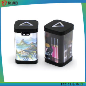 2017 colorful and fashion 3000mAh light up LED advertising power bank for gift promotion pictures & photos