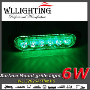 Surface-Mount LED Warning Lighthead 6W pictures & photos