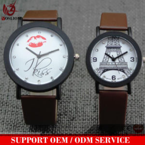 Vs-151 2017 Fashion Stainless Steel Couple Quarzt Watch Analog Design Watch for Men and Women pictures & photos