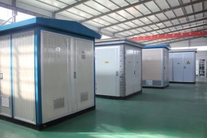 China Supplier Outdoor Zbw European Type Prefabricated Substation Kiosk pictures & photos