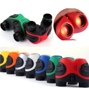 Focus Adjustment Multicolor Mini Compact Image Stabilized Kids Gift Binoculars pictures & photos