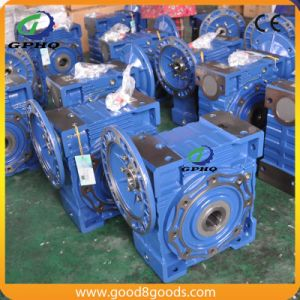 Nmrv130-4-4-40 Worm Gearbox Motor pictures & photos