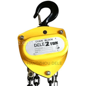 Lifting Equipment 3ton Manual Chain Hoist pictures & photos