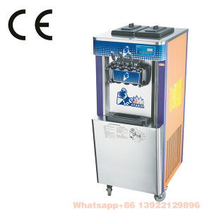 Industrial High Quality Big Capacity Floorstaind Ce Arrpoved Soft Ice Cream Machine Made in China pictures & photos