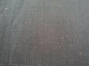 Swt009 Silver Fiber Cotton Grid Fabric pictures & photos