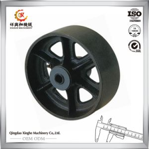 Shandong Sand Casting Factory Wholesale Cast Iron Wheels pictures & photos