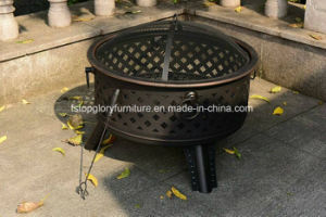 Outdoor Cast Iron BBQ Grill with Ash Plate Barbecue (TGFT-136) pictures & photos