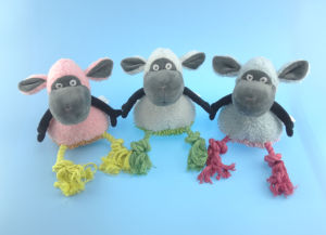 Cutton Rope Toy Cute Sheep for Pets pictures & photos