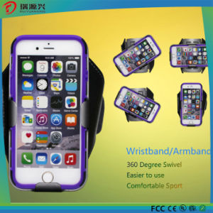 Newest Customize Logo Swivel LED Armband Case for Mobile Phones pictures & photos