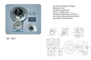 Hardware Accessories Rolling Gate Fittings (SF-931) pictures & photos