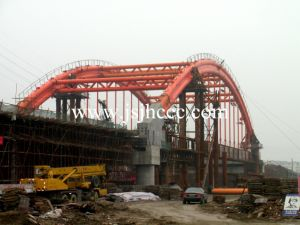 100m Span Steel Tube Arch Steel Structure Bridge pictures & photos