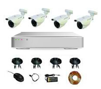 4CH Security Camera System with Network Function (MVT-KAH04) pictures & photos