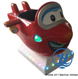 New Joy Plane Kiddie Ride Game Machine for Children (ZJ-K65) pictures & photos
